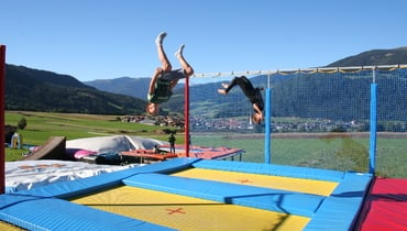 High, high, higher: Our super cool trampoline park
