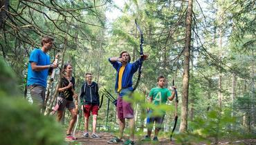 HAVE YOU GOT THE HANG OF IT? Show off your skills in the AbenteuerpARCour
