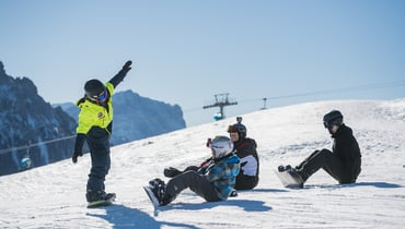 FOR THE PISTE HEROES OF TOMORROW: Private and group courses