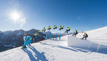 JIBBING, JUMPS & TURNS: The snowpark for freestyle fans